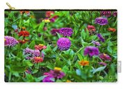A Sea Of Zinnias 10 Carry-all Pouch