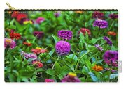 A Sea Of Zinnias 14 Carry-all Pouch