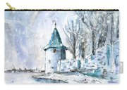 A Seagull In Winter In Lindau Carry-all Pouch