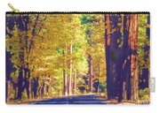 A Shady Drive Through Yosemite Carry-all Pouch