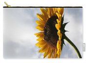 A Side Of Sunflower Carry-all Pouch