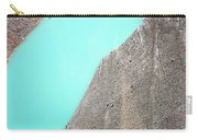 A Silty Glacier-dammed Lake Carry-all Pouch