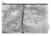 A Single Infrared Beech Tree Carry-all Pouch