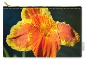 A Single Orange Lily Carry-all Pouch