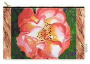 A Single Rose The Dancing Swirl  Carry-all Pouch