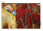 A Slice Of Paradise By Madart Carry-all Pouch by Megan Duncanson