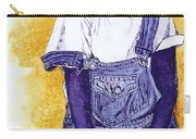 A Smile For You From Haiti Carry-all Pouch by Margaret Bobb