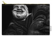 A Smile On The Shoulder - Bw Carry-all Pouch