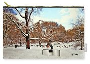 A Snow Day In Central Park Carry-all Pouch