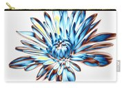 A Splash Of Petaled Blue Carry-all Pouch