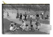 A Spring Day In Central Park Carry-all Pouch