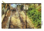 A Stairway In Montmartre Carry-all Pouch