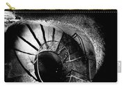 A Stairwell In The Catacombs Of Paris France Carry-all Pouch