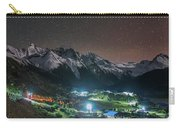 A Starry Night In Laigu Village, Tibet Carry-all Pouch