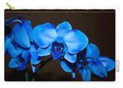 A Stem Of Beautiful Blue Orchids Carry-all Pouch