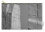 A Stone Of Hope Bw Carry-all Pouch by Susan Candelario