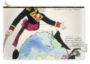 A Stoppage To A Stride Over The Globe, 1803 Litho Carry-all Pouch