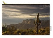 A Stormy Evening In The Superstitions  Carry-all Pouch