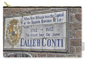 A Street Called Conti Carry-all Pouch