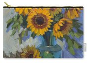 A Sunflower Day Carry-all Pouch