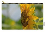 A Sunflower Profile Carry-all Pouch