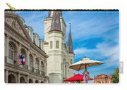 A Sunny Afternoon In Jackson Square Carry-all Pouch