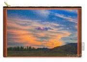 A Surprise Sunset Visit Landscape Painting Carry-all Pouch