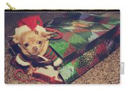 A Sweet Christmas Surprise Carry-all Pouch by Laurie Search