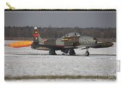 A T-33 Shooting Star Trainer Jet Carry-all Pouch