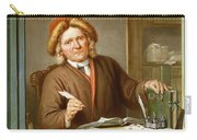 A Tax Collector, 1745 Carry-all Pouch by Tibout Regters