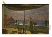 A Terrace In Amalfi In Moonlight Carry-all Pouch