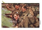 A Thrilling Charge, Illustration Carry-all Pouch