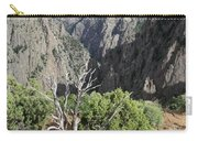 A Thunderstorm Is Approaching Over The Black Canyon Carry-all Pouch