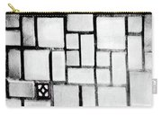 A Tiled Wall Carry-all Pouch
