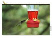 A Tiny Little Ruby-throated Hummingbirds Carry-all Pouch