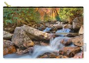 A Touch Of Autumn At Skinny Dip Falls Carry-all Pouch
