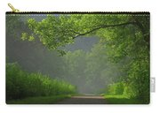 A Touch Of Green Carry-all Pouch