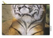 A Tough Day Siberian Tiger Endangered Species Wildlife Rescue Carry-all Pouch