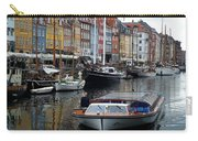 A Tour Boat At Nyhavn Carry-all Pouch