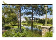 A Tranquil Pond At Walt Disney World Carry-all Pouch