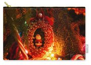 A Treasured Santa Carry-all Pouch by Laurie Lundquist