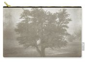 A Tree In The Fog 3 Carry-all Pouch by Scott Norris