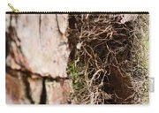 A Treetrunk Abstract Carry-all Pouch