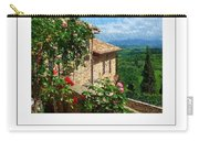 A Tuscan View Poster Carry-all Pouch