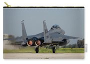 A U.s. Air Force F-15e Strike Eagle Carry-all Pouch
