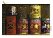 A Variety Of Vintage Tins Carry-all Pouch