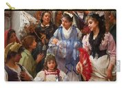 A Venetian Christening Party, 1896 Carry-all Pouch by Henry Woods