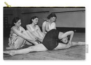 A Very Flexible Woman Carry-all Pouch