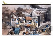 A View In White Chapel Road 1830 Carry-all Pouch