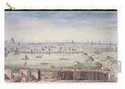 A View Of London From St Pauls To The Custom House, 1837 Carry-all Pouch